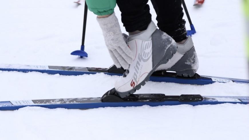 спорт, лыжи, лыжня,