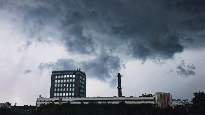 МЧС: В Свердловской области ожидается гроза с сильным ветром