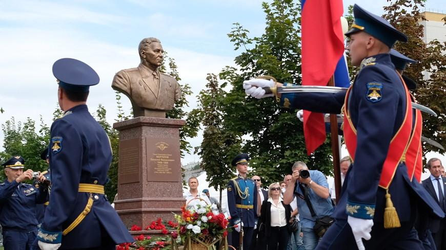 В Воронеже установили бюст Героя СССР Василия Маргелова
