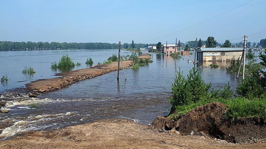 Один из пропавших во время паводка в Иркутской области найден живым