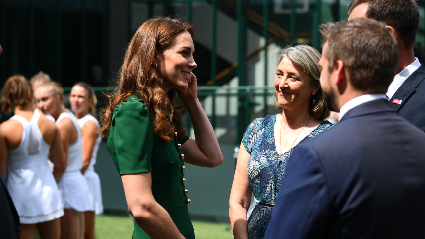 Кейт Миддлтон посетила Уимблдон и поразила стройностью