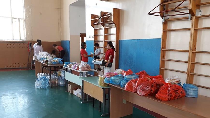 Жители Арыси получили 300 тонн гуманитарной помощи