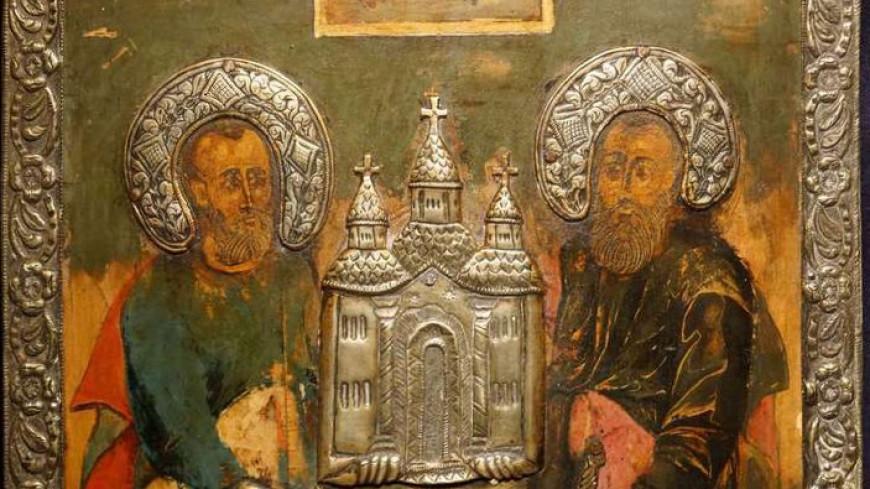 Православные вспоминают апостолов Петра и Павла