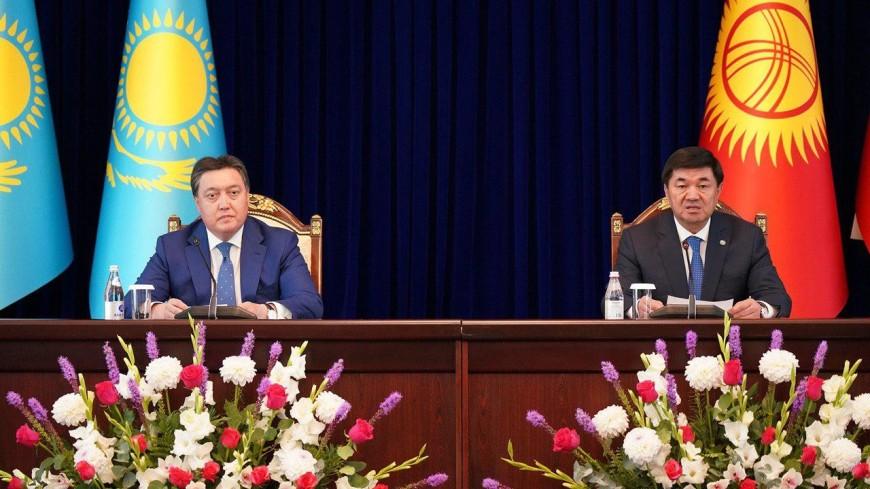 По итогам визита премьера Казахстана в Кыргызстан подписан ряд соглашений