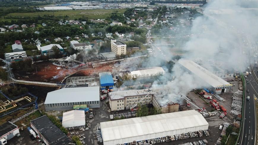 Пожар на ТЭЦ: огонь тушили более 15 часов