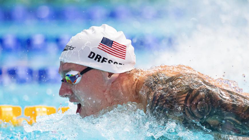 Пловец Дрессел побил мировой рекорд Фелпса на 100-метровке баттерфляем