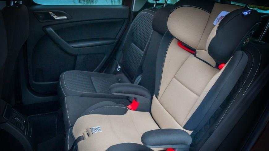 В Роскачестве назвали правила перевозки детей в автомобиле
