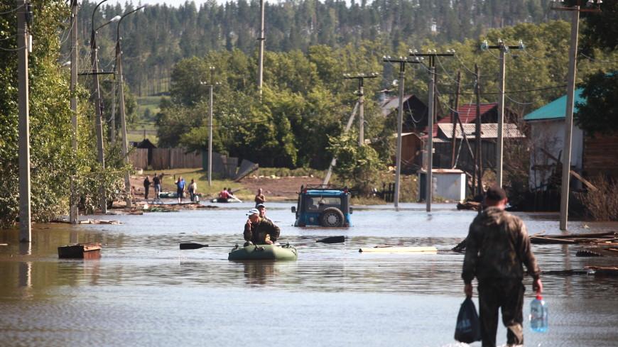 Наводнение в Сибири захватило новые территории