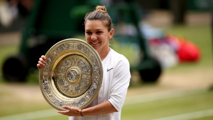 Румынская теннисистка Симона Халеп стала победительницей Уимблдона