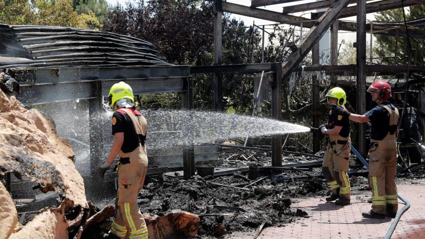 Огонь и вода: в Валенсии загорелся крупнейший океанариум Европы