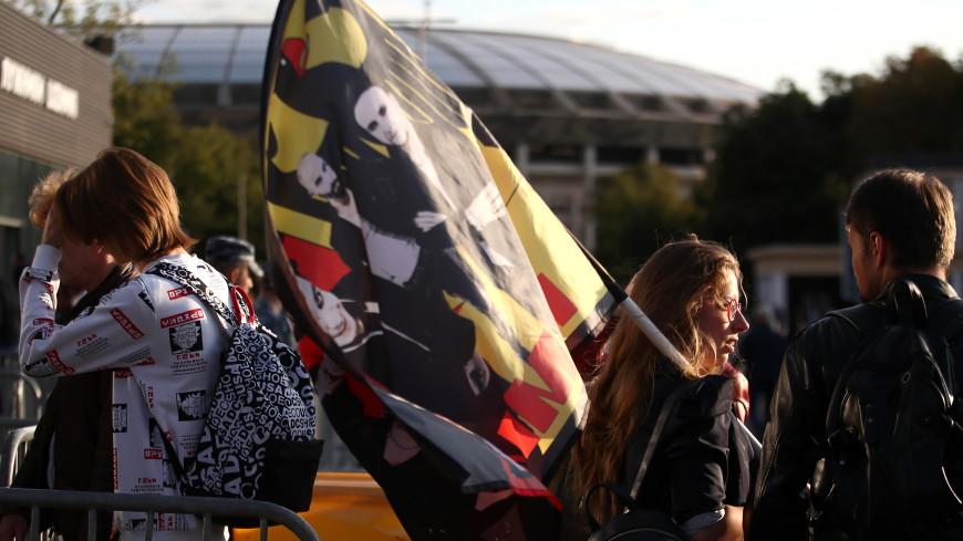 Rammstein в Москве: легендарная группа выступает в «Лужниках»