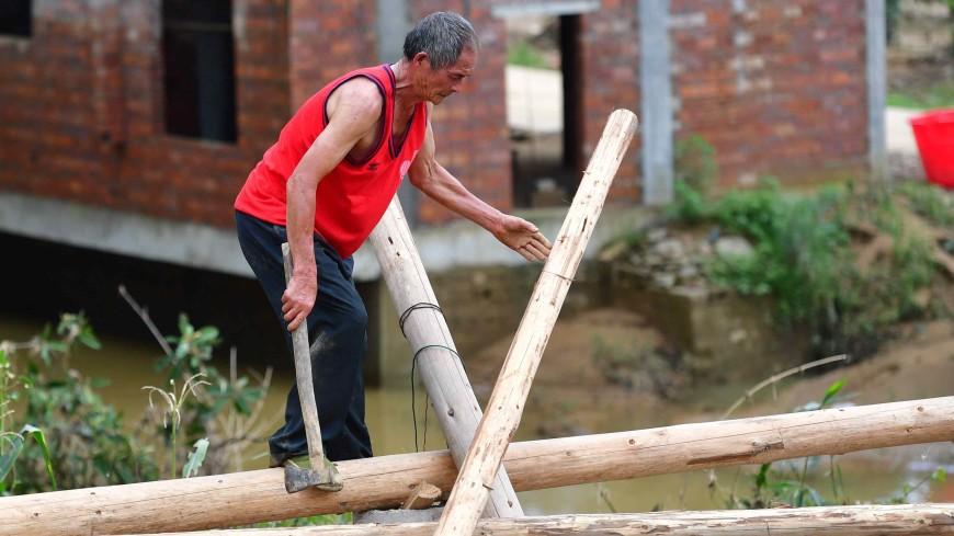 Ущерб от наводнений в Китае: на восстановление потребуется $7,7 млрд
