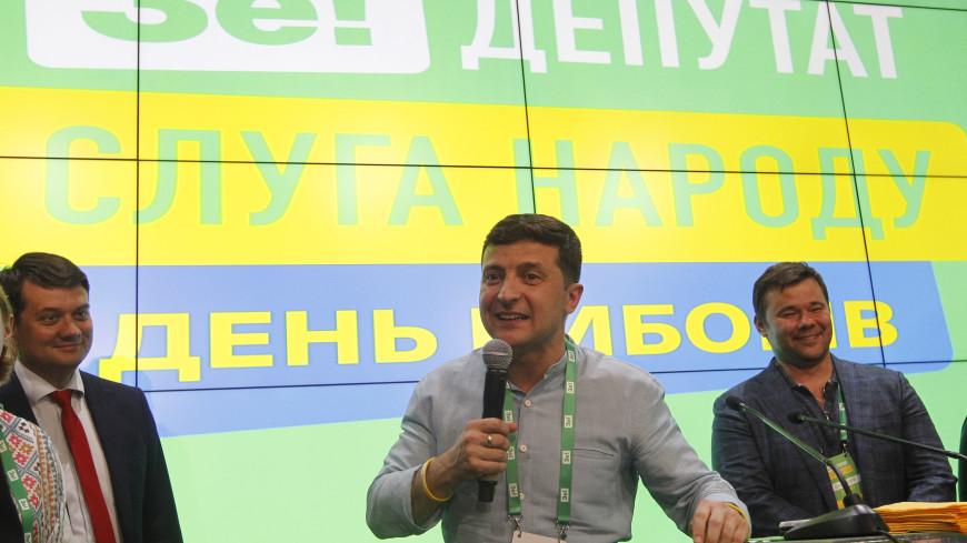Партия Зеленского с 42,83% сохраняет лидерство на выборах в Раду после подсчета 80% голосов