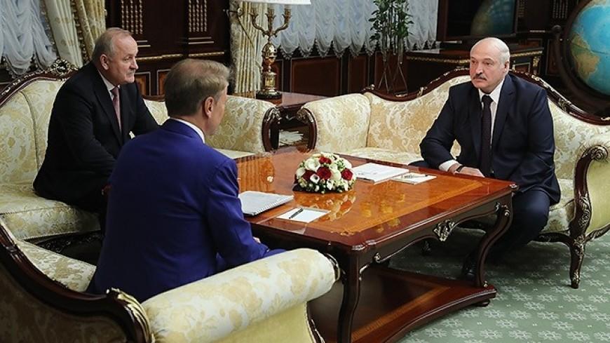 Лукашенко и Греф обсудили новые технологии в банковской сфере