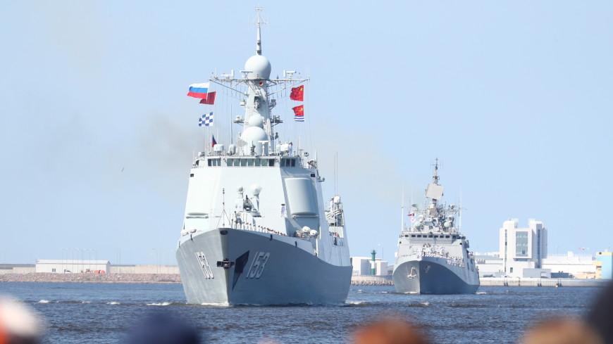 Петербург в День ВМФ принимает главный морской парад. ОНЛАЙН-ТРАНСЛЯЦИЯ
