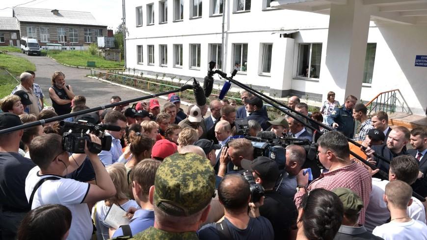 Путин поручил создать пообъектный план расселения пострадавших иркутян