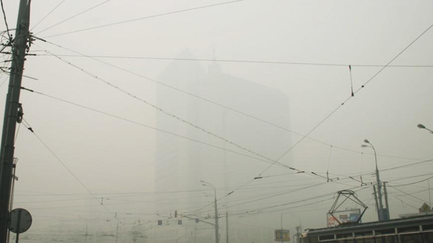 "Фото: ""«МИР 24»"":http://mir24.tv/, москва, смог, дым"