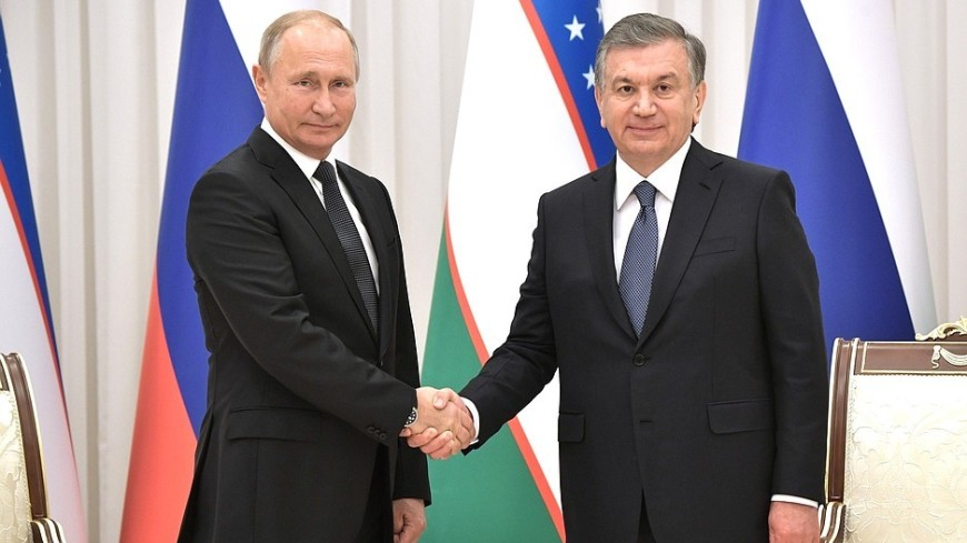 Путин тепло поздравил Мирзиеева с днем рождения, отметив его вклад в укрепление союзничества