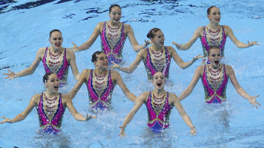 Российские синхронистки взяли золото в произвольной программе в группах