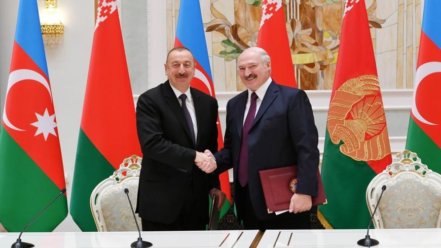 Алиев поздравил Лукашенко с успешным проведением Европейских игр