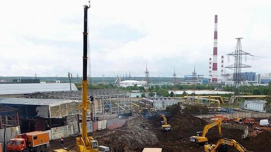 ТЭЦ в Мытищах возобновила работу после пожара