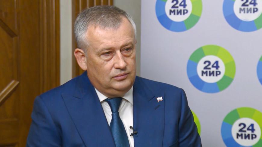 Александр Дрозденко: Ленинградская область станет крупнейшим портовым хабом Европы. ЭКСКЛЮЗИВ