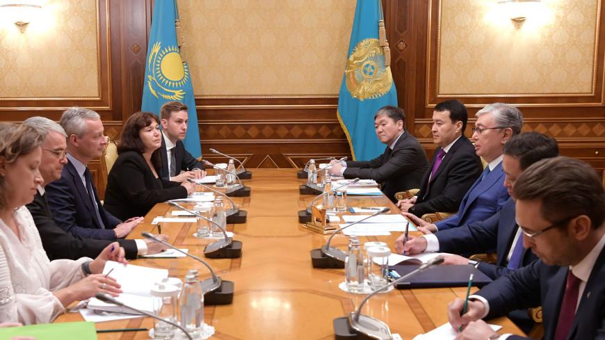 Казахстан назван стратегическим партнером Франции