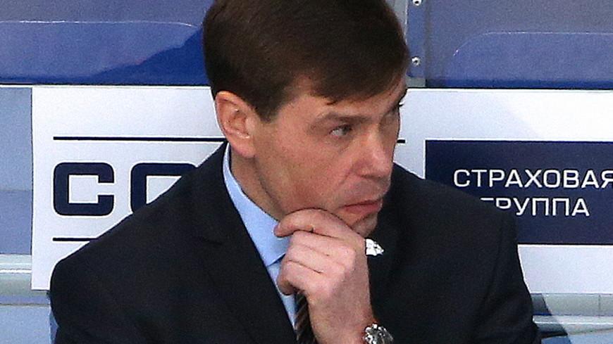 Алексей Кудашов стал главным тренером сборной России по хоккею