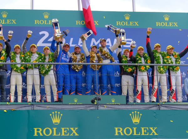 Российские гонщики взяли бронзу «24 часов Ле-Мана»