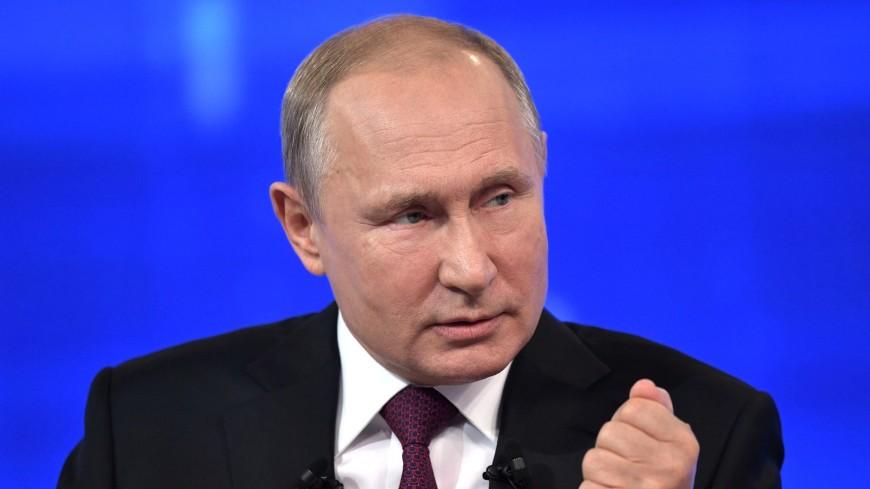 Путин об ответственности за наркотики: Либерализации здесь быть не может