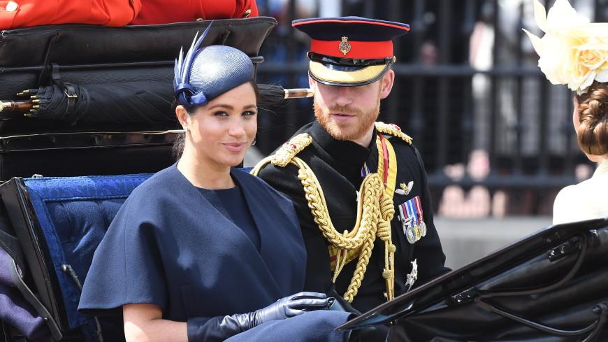 Принц Гарри отчитал жену на дне рождения Елизаветы II