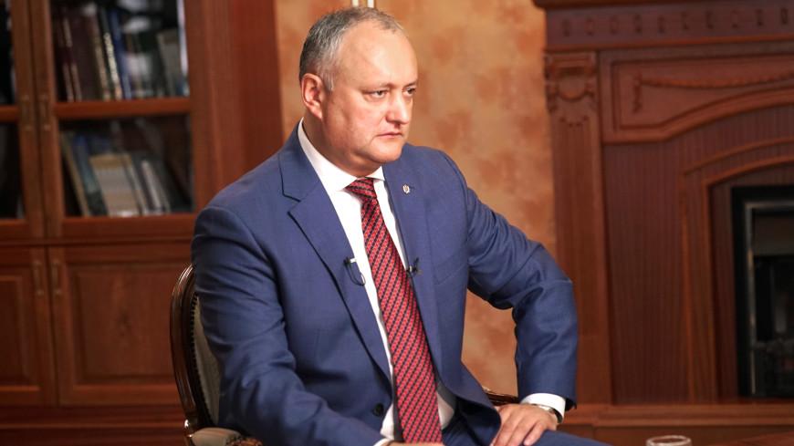 Игорь Додон: Люблю смотреть телеканал «МИР». ЭКСКЛЮЗИВ