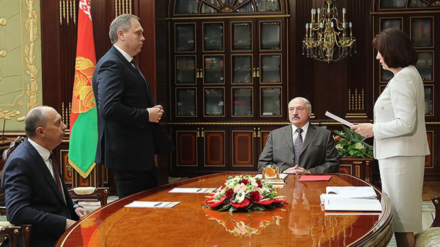 Лукашенко потребовал от нового главы Минздрава навести порядок
