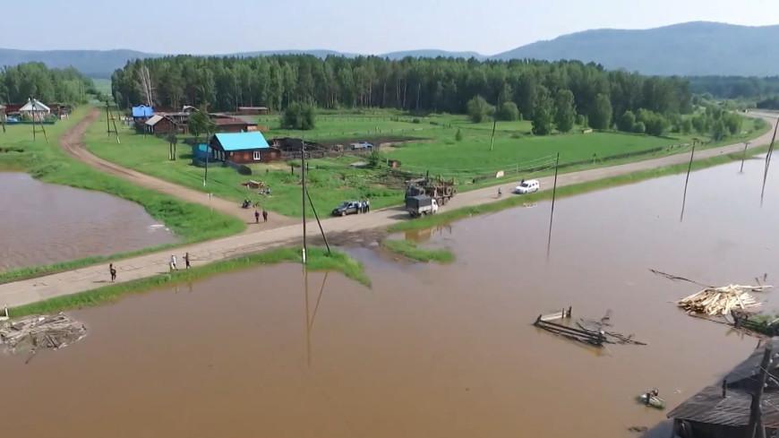 Ущерб от паводка дорогам в Иркутской области оценили в 800 млн рублей