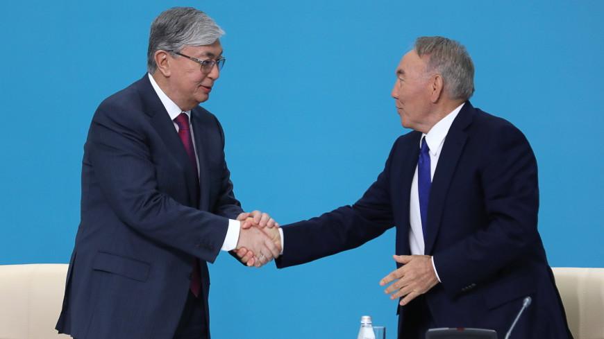 Токаев сообщил, что не стесняется советоваться с Назарбаевым