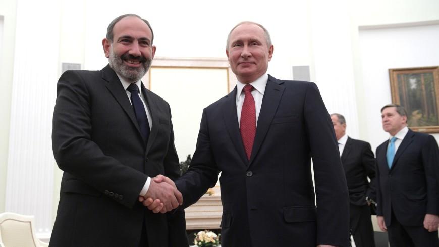 Путин поздравил Пашиняна с днем рождения и обсудил с ним график контактов