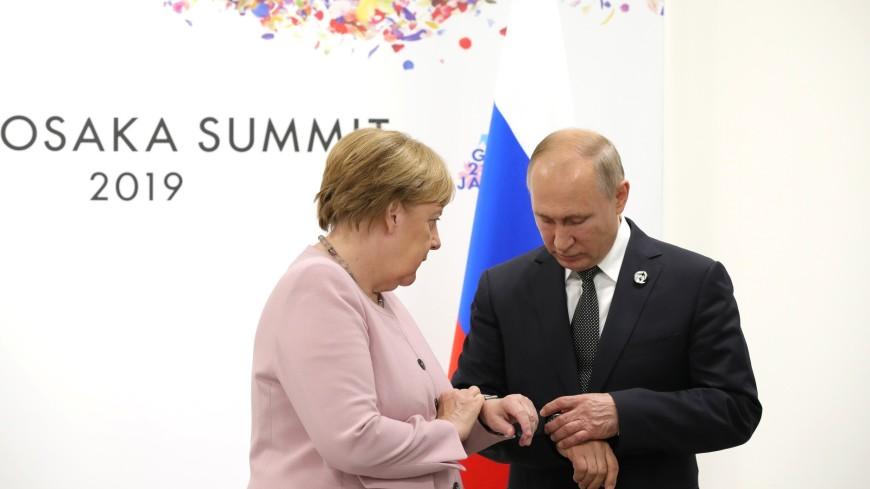 Путин помог дезориентированной Меркель