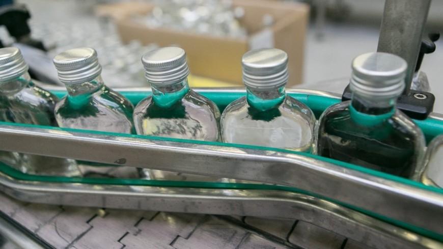 Водка не попала в число популярных товаров у россиян