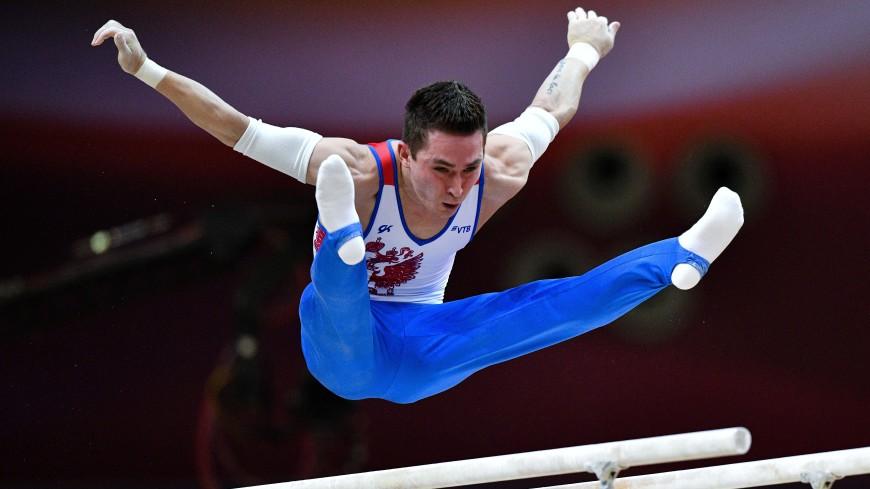 Россиянин Белявский взял золото в гимнастическом многоборье на Европейских играх