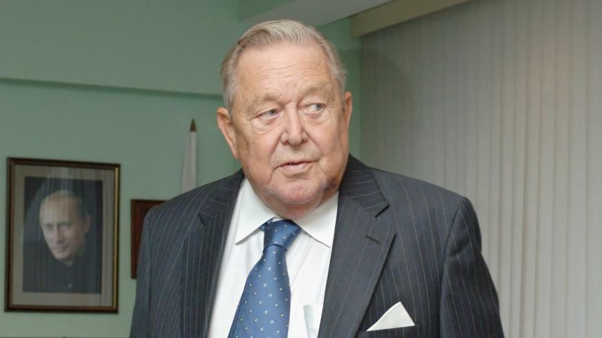 Скончался бывший президент УЕФА Леннарт Юханссон