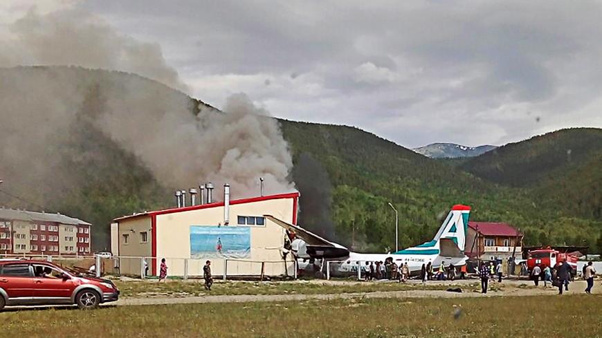 Обнародован список пострадавших при аварийной посадке Ан-24