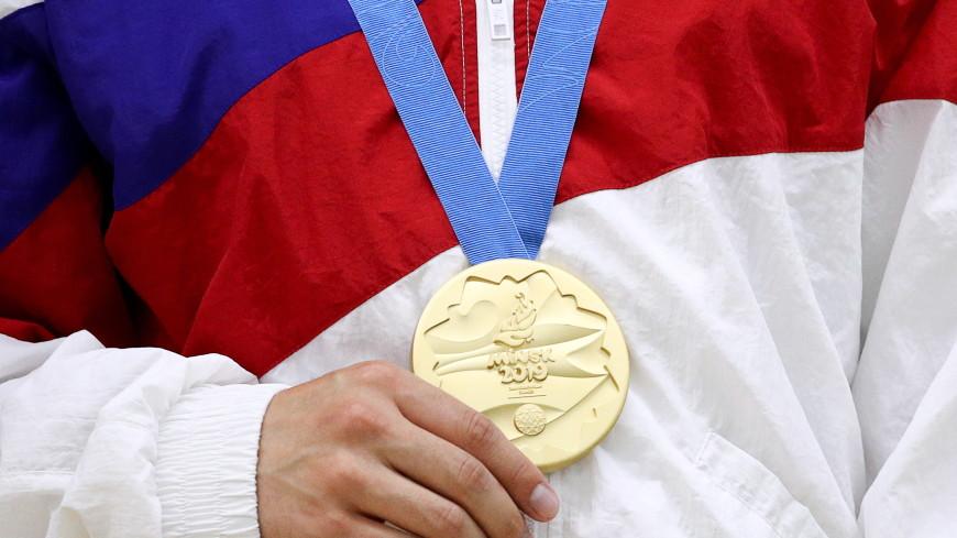 Мужская сборная России по спортивной аэробике взяла золото Европейских игр