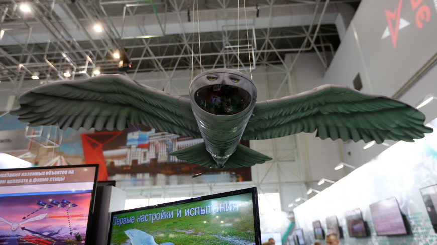 Лучшая маскировка: Минобороны России показало дрон в виде совы