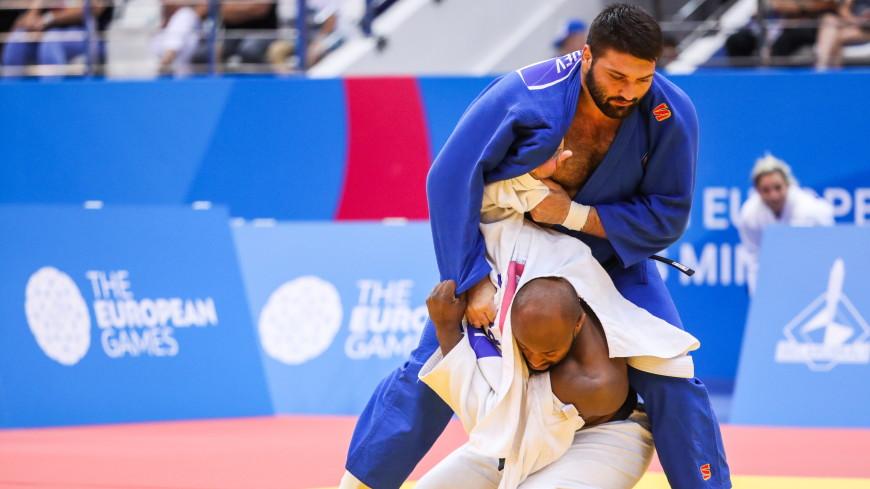 Российские дзюдоисты взяли золото Европейских игр