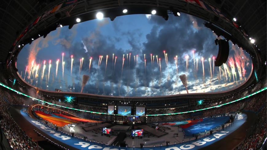 Церемонию закрытия Европейских игр посетили лидеры СНГ и глава МОК