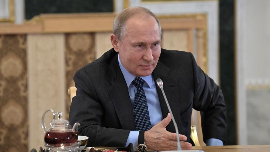 Путин на ПМЭФ напомнил о мирном сосуществовании
