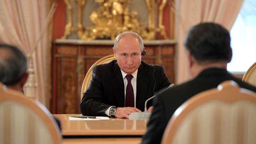 Путин охарактеризовал переговоры с Си Цзиньпином как откровенные