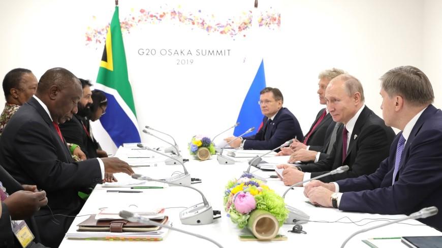 Путин: В 2020 году саммит БРИКС пройдет в России