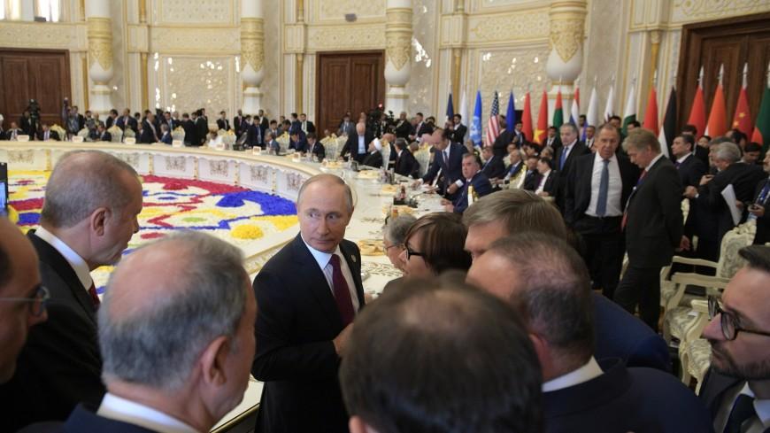 Путин на саммите СМВДА высказался по ситуации в Сирии, Ирану и КНДР
