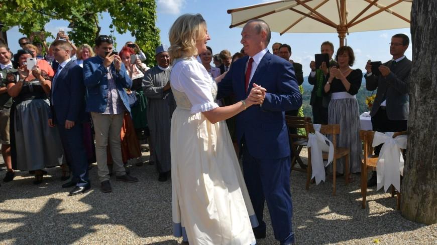 Экс-глава МИД Австрии рассказала, как решилась пригласить Путина на свадьбу
